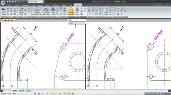 Gstarcad logiciel de dessin industriel et de conception 2d 3d for Application dessin 3d