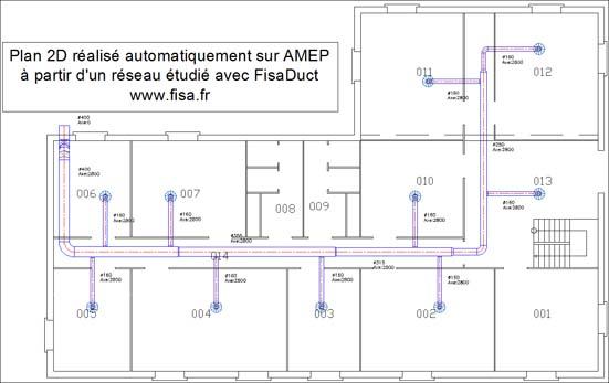 logiciel fisaduct pour le calcul des r seaux de ventilation. Black Bedroom Furniture Sets. Home Design Ideas